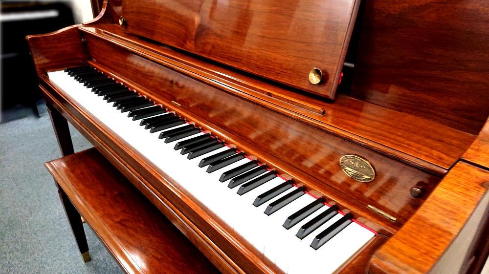スタインウェイ&サンズ シェラトン 鍵盤蓋1